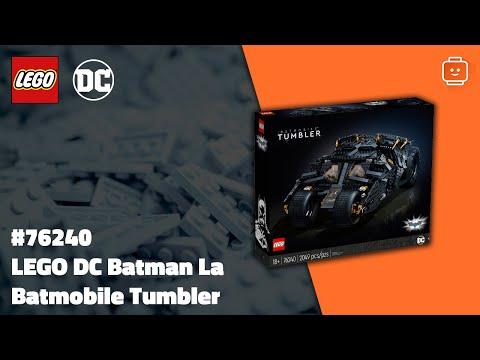Vidéo LEGO DC Comics 76240 : La Batmobile Tumbler