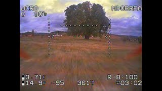 Training for FPV Drone flight through gaps - successes and failures