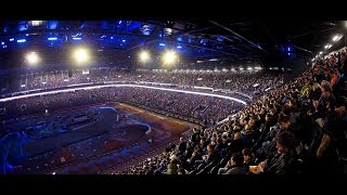 Supercross comes to U Arena: Timelapse video