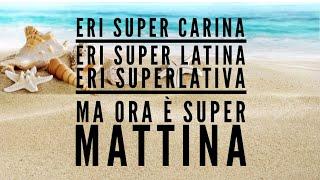 Super Martina   Lorenzo Fragola Feat Gazzelle (testo  Lyric Video)