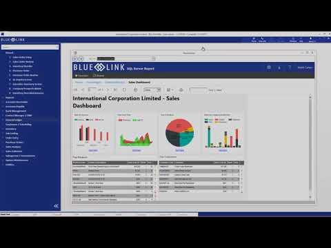 Blue Link ERP vs  Techbase Solution Sales ManagementSystem