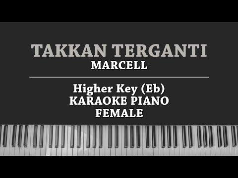 Download Takkan Terganti Female Karaoke Piano Cover Marcell Video