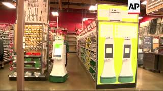 Lowe's is testing whether new robots on wheels can improve its customer service, like helping a shop