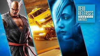 Tekken 7, Danger Zone, Perception - New Releases