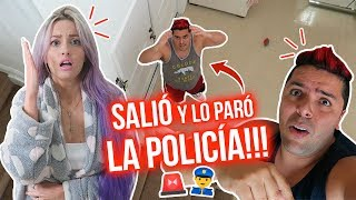 TOQUE DE QUEDA EN EE.UU!!! SALIÓ DE CASA y LO PARÓ LA POLICÍA!!! 😱🚨| 25 Mar 2020