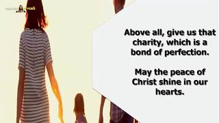 Prayer For Family - Prayer To Bless Our Home and Family - Daily Prayers | Family Prayer