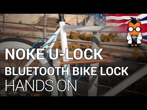 Noke U-Lock Bluetooth bike lock hands On [english]