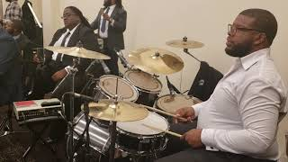 Josh Mayfield praise break Holy Convocation Revival Fire pt 2 with Jon B Smashing On Organ