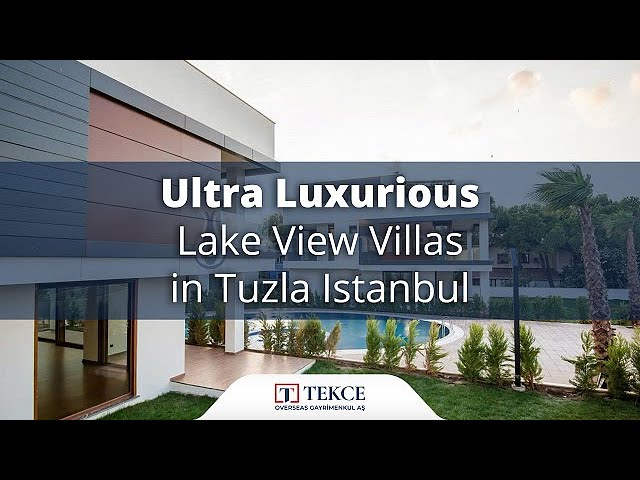 Peaceful Family Villas with Excellent Features in Istanbul