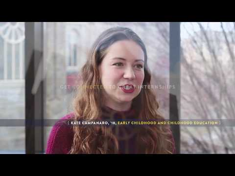 Kate Campanaro, '18, Early Childhood and Childhood Education