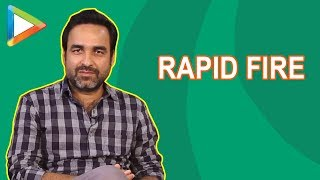 "Pankaj Tripathi's SUPERB Rapid Fire: ""Tiger Shroff mein Cheetah jaisi furti hai"""