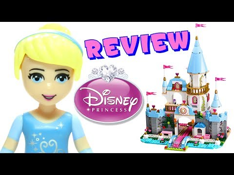 LEGO Cinderella's Romantic Castle 41055 Disney Princess Review