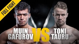 ONE: Full Fight | Muin Gafurov vs. Toni Tauru | Great Ground Game | January 2016
