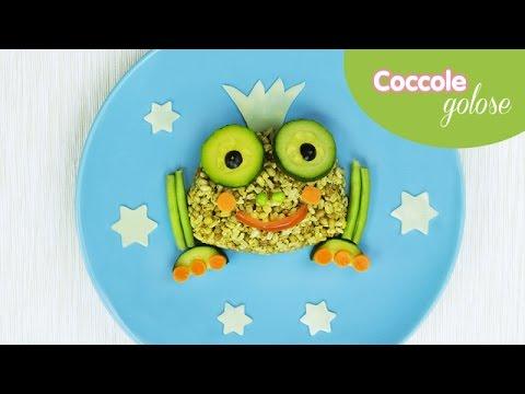 Principe ranocchio Insalata ai cinque cereali  - Ricette per bambini di Coccole Sonore