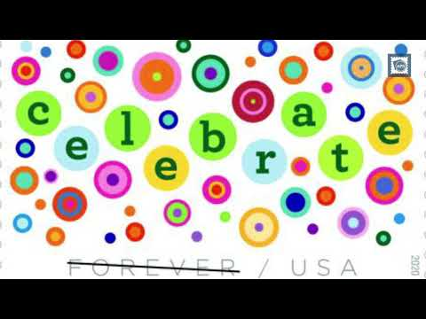 Let's Celebrate! New USPS Stamp Issue