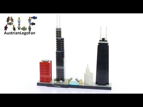 Vidéo LEGO Architecture 21033 : Chicago