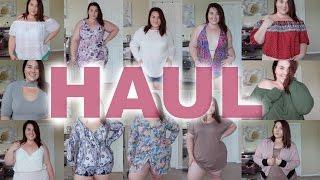 Huge Summer Try-On Haul | Boohoo Plus |