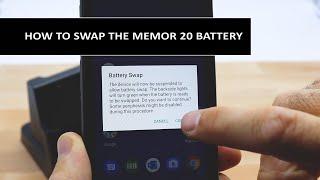 How to Swap the Datalogic Memor 20 Battery