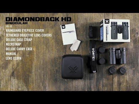Vortex Diamondback HD 10x32 Verrekijker