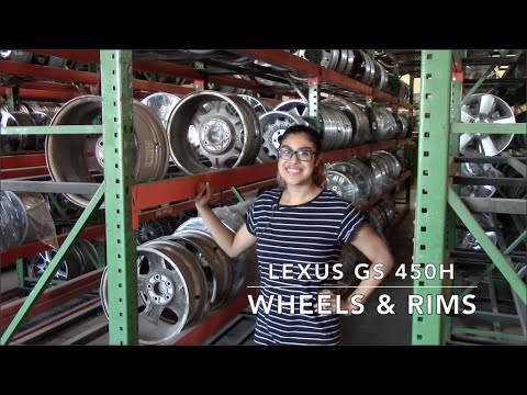 Factory Original Lexus GS 450H Wheels & Lexus GS 450H Rims – OriginalWheels.com