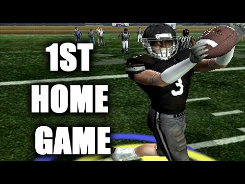 IT IS RAINING IN A DOME!! NCAA FOOTBALL 06 DYNASTY MODE PCU S1 G2