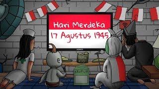 Hari Merdeka - 17 Agustus Cover Versi 10 Animator Indonesia | Kartun Lucu Rizky Riplay