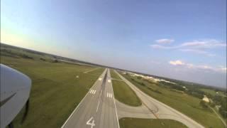 Flying around Lexington Bluegrass Airport - LEX