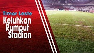 Jelang Laga Melawan Indonesia, Pelatih Timor Leste Keluhkan Kondisi Rumput Stadion GBK