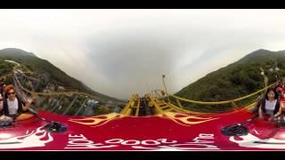 WOOW! Американские горки 360 градусов