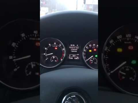 Skoda Yeti 2016 MPI ошибка усилителя тормозов