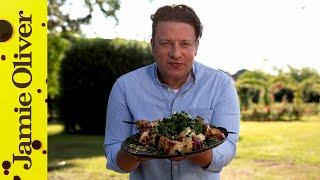 Halloumi Skewers | Jamie Oliver