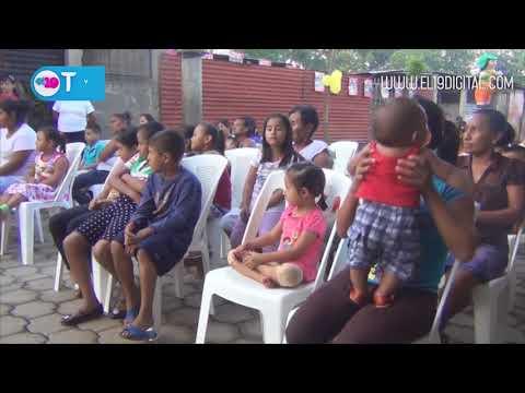 Alcaldía y Familias del barrio Germán Pomares inauguran calle adoquinada