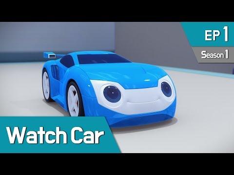Power Battle Watch Car S1 EP01 My Friend, Watch Car 01 (English Ver)