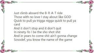 Da Brat - Da Shit Ya Can't Fuc Wit Lyrics