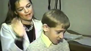 Children with cystic fibrosis (Fox kids Club Reality TV Zach Rumm)
