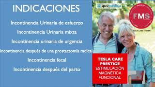 Tratamiento de incontinencias con estimulación magnética - Encarnación Rizo Hurtado de Mendoza
