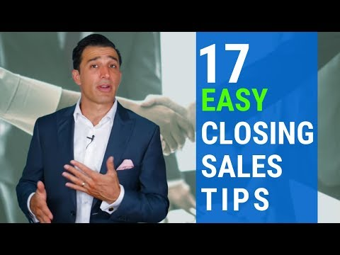 17 Easy Closing Sales Tips