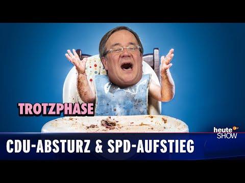 Volby 2021: CDU a CSU mají nejhorší výsledek vůbec! - heute show