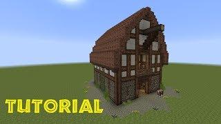 Minecraft Tutorial Einen Kleinen Stall Bauen - Minecraft altmodische hauser bauen