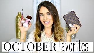 OCTOBER FAVORITES 2016 | Shea Whitney