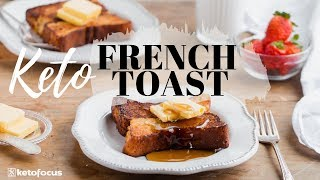 KETO FRENCH TOAST | How to make an EGG LOAF | Best Keto Breakfast!!
