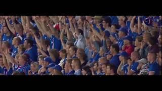Боевой клич болельщиков сборной Исландии/Евро 2016