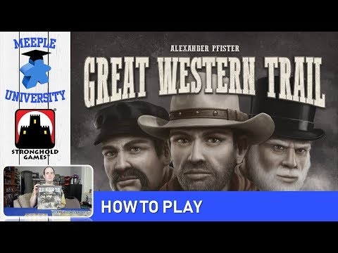 Great Western Trail Board Game – How to Play under 34 Minutes