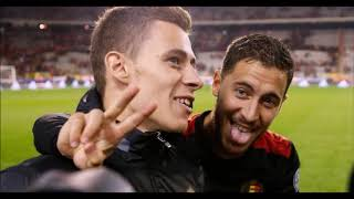Eden And Thorgan Hazard ''shed A Tear''