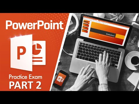 How to Pass MOS PowerPoint 2016 Exam (Part 2) - YouTube