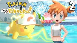 Misty  - (Pokémon) - LLEGAMOS DONDE MISTY ¡SIN PIKA PIEDAD! - Pokémon Let's Go #2 En Español - Nintendo Switch