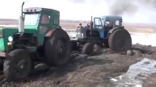 Приколы на тракторах. Смотри подборку  приколов на тракторах.