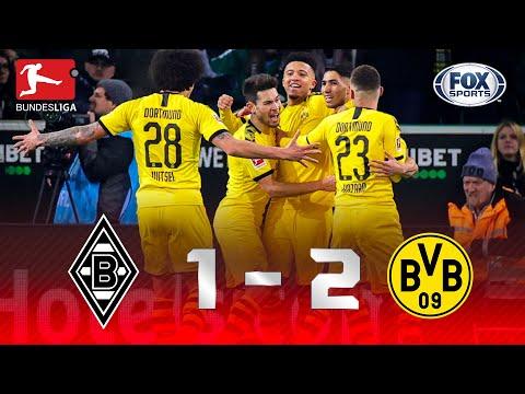 SEGUE A CAÇA AO LÍDER! Melhores momentos de Monchengladbach 1 x 2 Borussia Dortmund