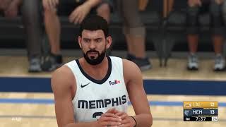 NBA 2K19 My Career Grizz v Lakers!!!
