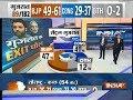 Exit Poll On IndiaTV: BJP 47% , Congress 41% votes in Central Gujarat